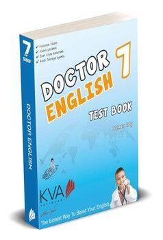 KVA Yayınları 7. Sınıf Doctor English Test Book
