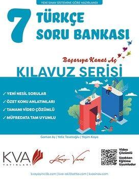 KVA Yayınları 7. Sınıf Türkçe Kılavuz Soru Bankası