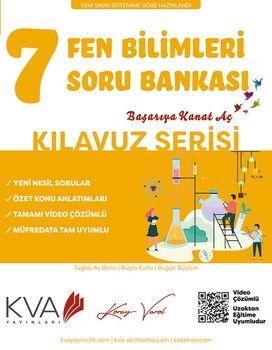 KVA Yayınları 7. Sınıf Fen Bilimleri Kılavuz Soru Bankası