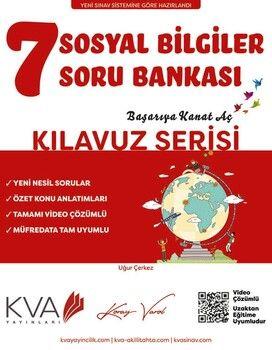 KVA Yayınları 7. Sınıf Sosyal Bilgiler Kılavuz Soru Bankası