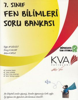 KVA Yayınları 7. Sınıf Fen Bilimleri Soru Bankası
