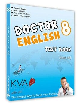KVA Yayınları 8. Sınıf LGS Doctor English Test Book