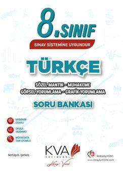 KVA Yayınları 8. Sınıf LGS Türkçe Sözel Mantık Muhakeme Soru Bankası