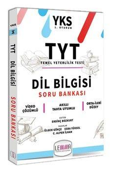 Lemma TYT Dil Bilgisi Soru Bankası