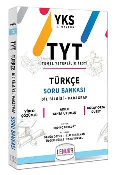 Lemma TYT Türkçe Soru Bankası