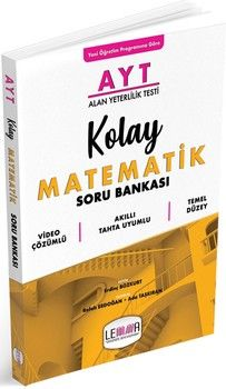 Lemma Yayınları AYT Kolay Matematik Soru Bankası