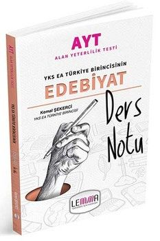 Lemma Yayınları AYT Edebiyat Ders Notu