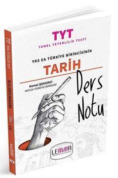 Lemma Yayınları TYT Tarih Ders Notu