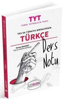Lemma Yayınları TYT Türkçe Ders Notu