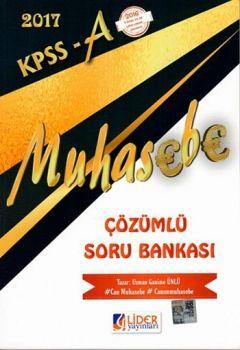 Lider 2017 KPSS A Grubu Muhasebe Çözümlü Soru Bankası