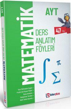 Lider Plus Yayınları AYT Matematik Ders Anlatım Föyleri