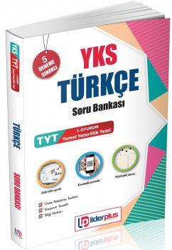 Lider Plus Yayınları YKS 1. Oturum TYT Türkçe Soru Bankası 5 Deneme Sınavlı