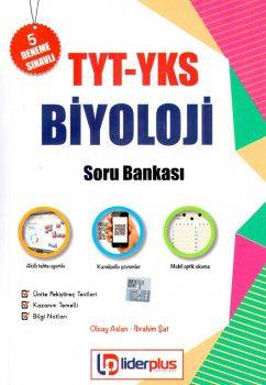Lider Plus Yayınları YKS 1. Oturum TYT Biyoloji Soru Bankası 5 Deneme Sınavlı