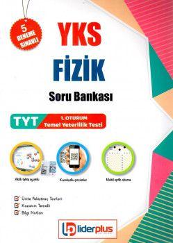Lider Plus Yayınları YKS 1. Oturum TYT Fizik Soru Bankası 5 Deneme Sınavlı