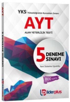 Lider Plus Yayınları YKS 2. Oturum AYT 5 Deneme Sınavı