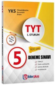 Lider Plus Yayınları YKS 1. Oturum TYT 5 Deneme Sınavı