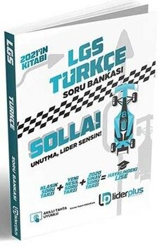 Lider Plus Yayınları 8. Sınıf LGS Türkçe Soru Bankası