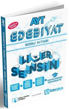 Lider Plus Yayınları AYT Türk Dili Edebiyatı Soru Bankası