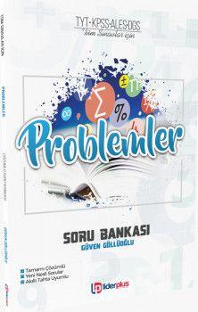 Lider Plus Yayınları TYT KPSS ALES DGS Tüm Sınavlar İçin Problemler Soru Bankası