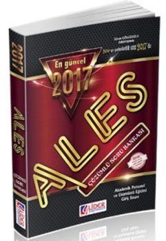 Lider Yayınları 2017 ALES Çözümlü Soru Bankası