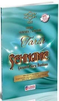 Lider Yayınları 2017 Genel Yetenek Genel Kültür Şehname Tarih Çözümlü Soru Bankası