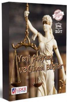 Lider Yayınları 2017 KPSS Yeni Anayasa ve Güncel Bilgiler