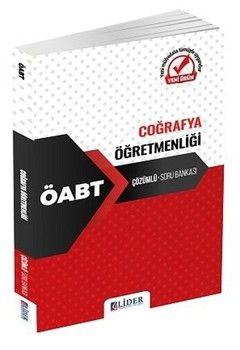 Lider Yayınları 2020 ÖABT Coğrafya Öğretmenliği Soru Bankası Çözümlü