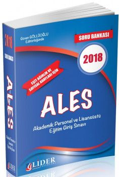 Lider Yayınları 2018 ALES Soru Bankası