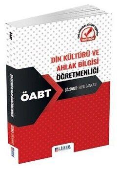 Lider Yayınları 2020 ÖABT Din Kültürü Öğretmenliği Soru Bankası Çözümlü