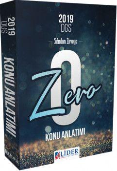 Lider Yayınları 2019 DGS Zero Konu Anlatımlı