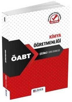 Lider Yayınları ÖABT Kimya Öğretmenliği Çözümlü Soru Bankası
