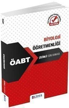 Lider Yayınları ÖABT Biyoloji Öğretmenliği Çözümlü Soru Bankası