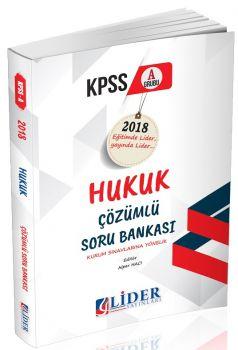 Lider Yayınları KPSS A Grubu Hukuk Çözümlü Soru Bankası