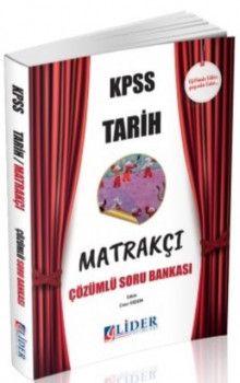 Lider Yayınları KPSS Tarih Matrakçı Çözümlü Soru Bankası