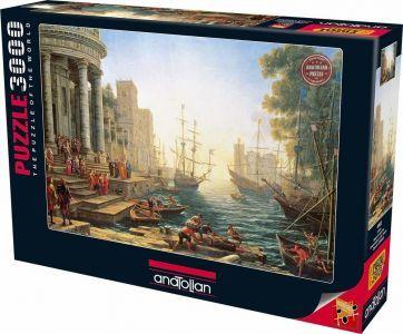 Liman  3000 Parça Puzzle - Yapboz