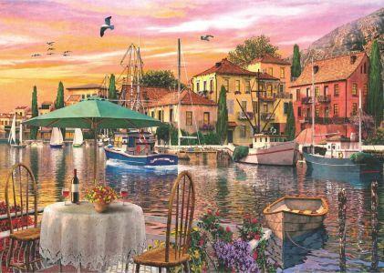 Limanda Günbatımı  Sunset Harbour 3000 Parça Yapboz