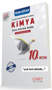 Limit Yayınları 10. Sınıf Kimya Konu Bitirme Kitabı