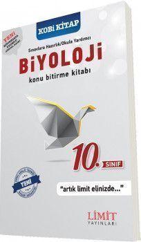 Limit Yayınları 10. Sınıf Biyoloji Konu Bitirme Kitabı