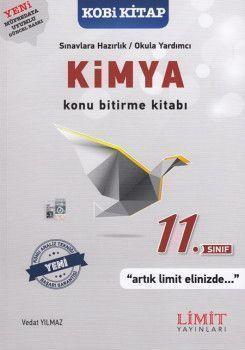 Limit Yayınları 11. sınıf Kimya Konu Bitirme Kitabı