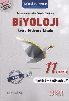 Limit Yayınları 11. Sınıf Biyoloji Konu Bitirme Kitabı