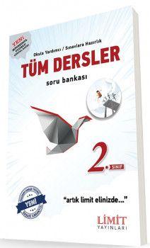 Limit Yayınları 2. Sınıf Tüm Dersler Soru Bankası