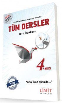 Limit Yayınları 4. Sınıf Tüm Dersler Soru Bankası