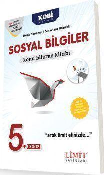 Limit Yayınları 5. Sınıf Sosyal Bilgiler Konu Bitirme Kitabı