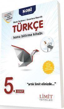 Limit Yayınları 5. Sınıf Türkçe Konu Bitirme Kitabı