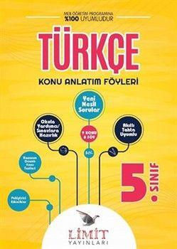 Limit Yayınları 5. Sınıf Türkçe Konu Anlatım Föyleri
