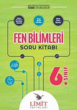 Limit Yayınları 6. Sınıf Fen Bilimleri Soru Kitabı