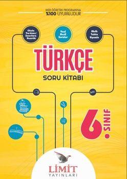 Limit Yayınları 6. Sınıf Türkçe Soru Kitabı