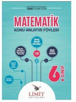 Limit Yayınları 6. Sınıf Matematik Konu Anlatım Föyleri
