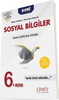 Limit Yayınları 6. Sınıf Sosyal Bilgiler Konu Bitirme Kitabı