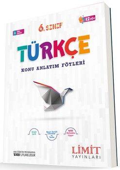 Limit Yayınları 6. Sınıf Türkçe Konu Anlatım Föyleri